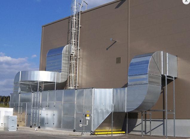 Klimakom vzduchotechnika realizace